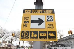 Sandy dal soccorso alla resistenza
