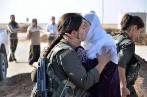 Al di qua di Kobane