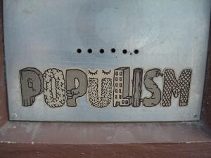 Populismo inclusivo o interruzione della rappresentanza