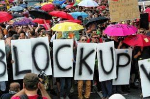 Blockupy divergences