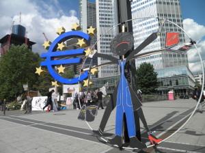 Precarious go to Frankfurt