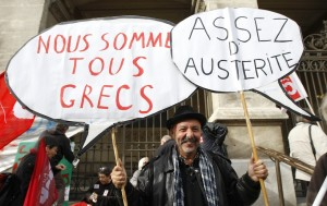 France Europe Austerity